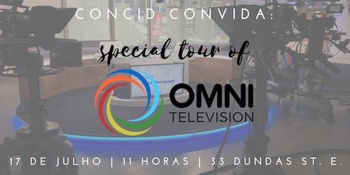 CONCID Convida: Special tour of Omni Television