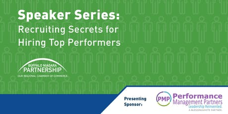 Speaker Series: Recruiting Secrets for Hiring Top Performers tickets