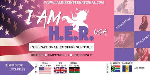 I Am H.E.R. USA International Conference Tour