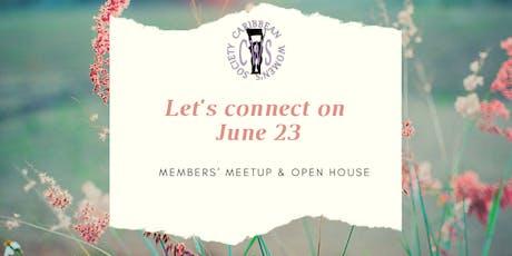 CWS Members' Meetup & Open House - June 23 tickets