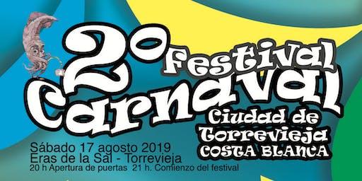 Segundo Festival de Carnaval Ciudad de Torrevieja - Costa Blanca