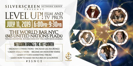 SilverScreen Film & Television Professionals Networking Event tickets