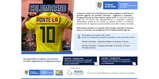 Colombiano Ponte la 10: Colombia vs. Paraguay