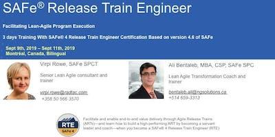 SAFe® Release Train Engineer Certification Training-Montréal