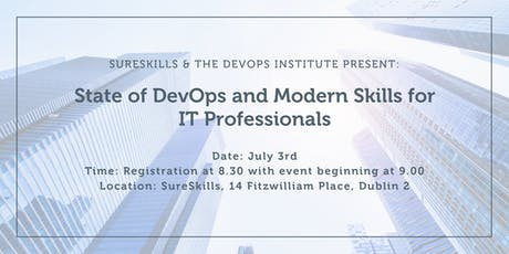 State of DevOps and Modern Skills for IT Professionals tickets