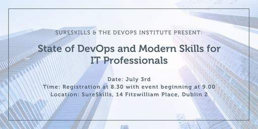 State of DevOps and Modern Skills for IT Professionals