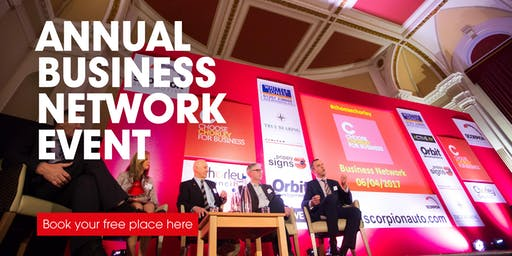 Choose Chorley Annual Business Network Event 2019