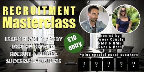 Recruitment MasterClass tickets