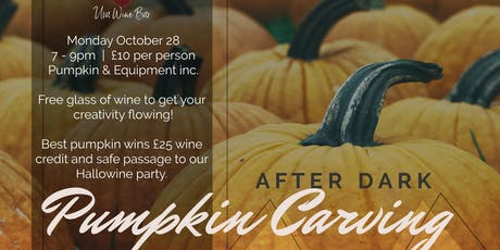 Are you the best pumpkin carver in Hitchin? tickets