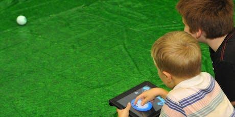 Sphero Racetrack Masterclass + Mega Maker Lab entry tickets