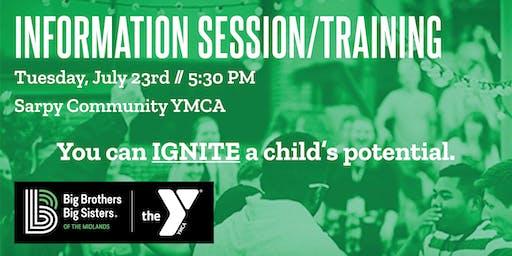 Information Session & Menor Training - Sarpy YMCA