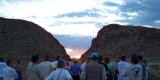 Parowan Gap Summer Solstice Event