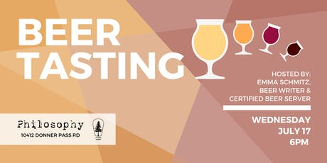 Beer Tasting at Philosophy (Hosted by Emma Schmitz) tickets