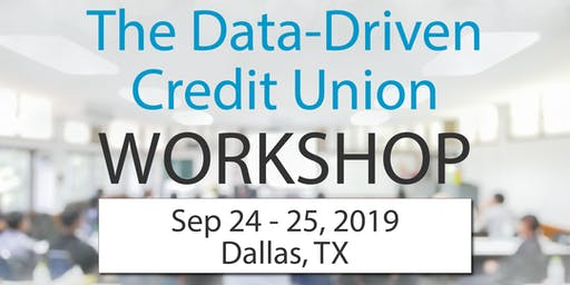 The Data-Driven Credit Union Workshop