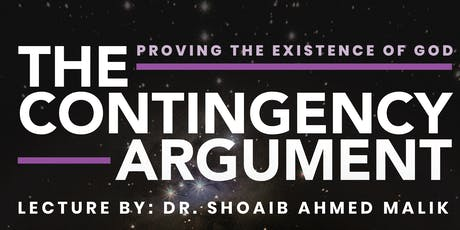 The Contingency Argument: Proving the Existence of God tickets