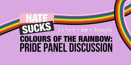 HATE SUCKS: Colours of the Rainbow Panel Discussion tickets