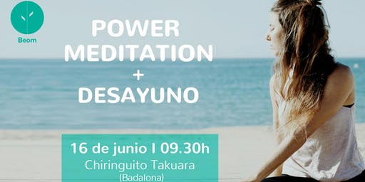 Power Meditation en el chiringuito