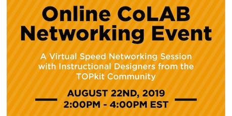 Online CoLAB August 2019 tickets