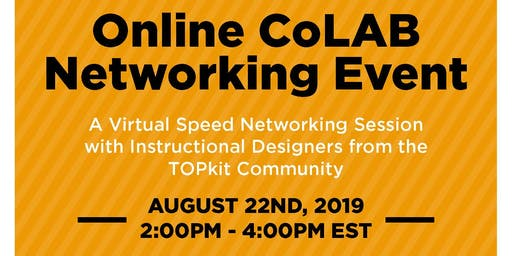 Online CoLAB August 2019