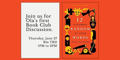 OLA Book Club: 12 Random Words tickets
