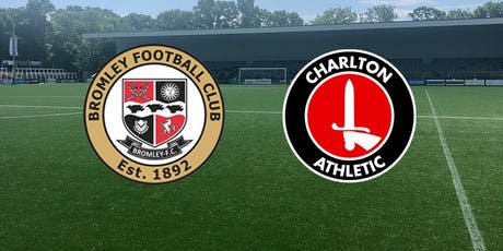 Bromley v Charlton Athletic XI tickets