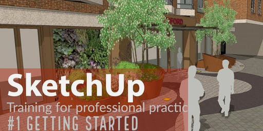 SketchUp training: Getting started