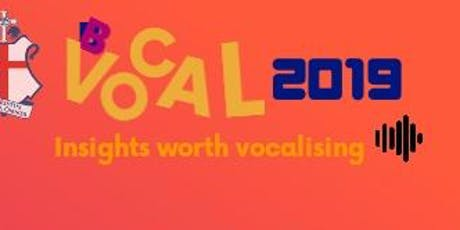 BBVOCAL2019 tickets