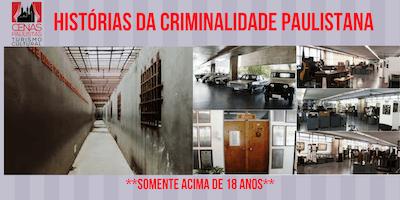 INSCRIÇÕES ENCERRADAS HISTÓRIAS DA CRIMINALIDAD