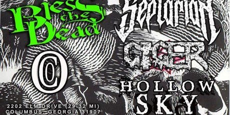 Septarian ,Bless The Dead, Giger,OCO and Hollow Sky tickets