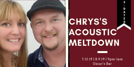 Chrys' Acoustic Meltdown FREE tickets
