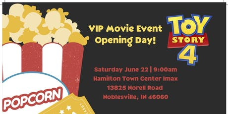 VIP Movie Event - Toy Story 4 tickets