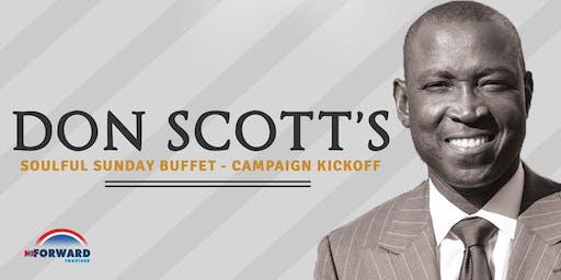 Campaign Kickoff & Soulful Sunday Buffet