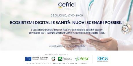 Ecosistemi Digitali e Sanità: nuovi scenari possibili biglietti