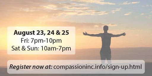 FREE Personal Development Workshop Weekend At Compassion Inc Headquarters. Remove Yourself From The Heat, In August, And Give Yourself A Treat With A New AC Unit. Do Yourself A Favor And Take A Timeout, Recharge Your Batteries And Discover A New You ❣️
