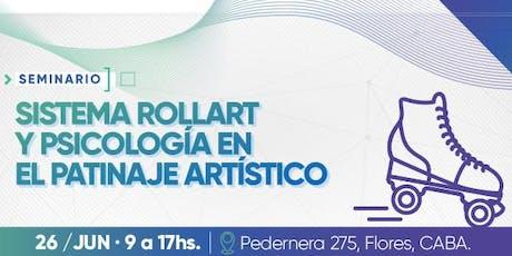 Seminario: Sistema rollart y psicología en el patinaje artístico.  entradas
