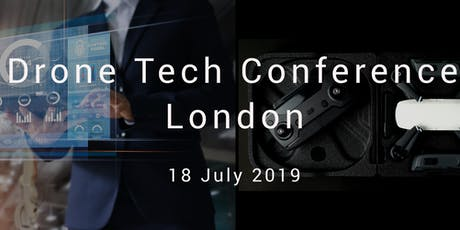 The Drone Tech Conference London tickets