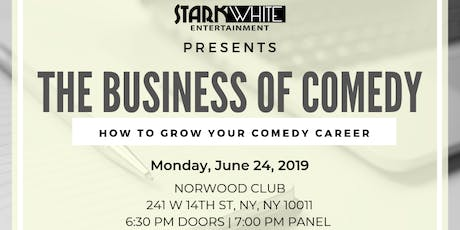 The Business of Comedy Panel tickets