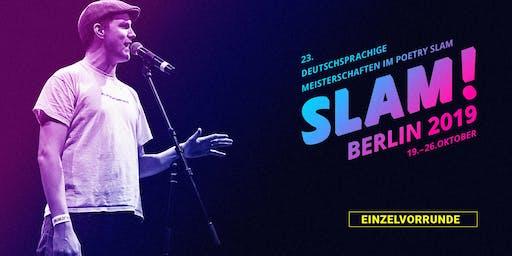 Vorrunde 9 / SLAM 2019 – Die deutschsprachigen Meisterschaften im Poetry Slam
