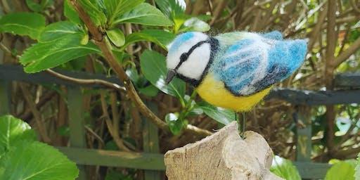 Needle Felt Garden Birds with Lorriane Onorato - Saturday 22nd June