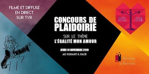 Concours de plaidoirie 2019