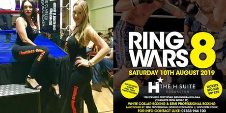 Ring Wars 8 - Birmingham Ring Girls Limitless Benefits tickets