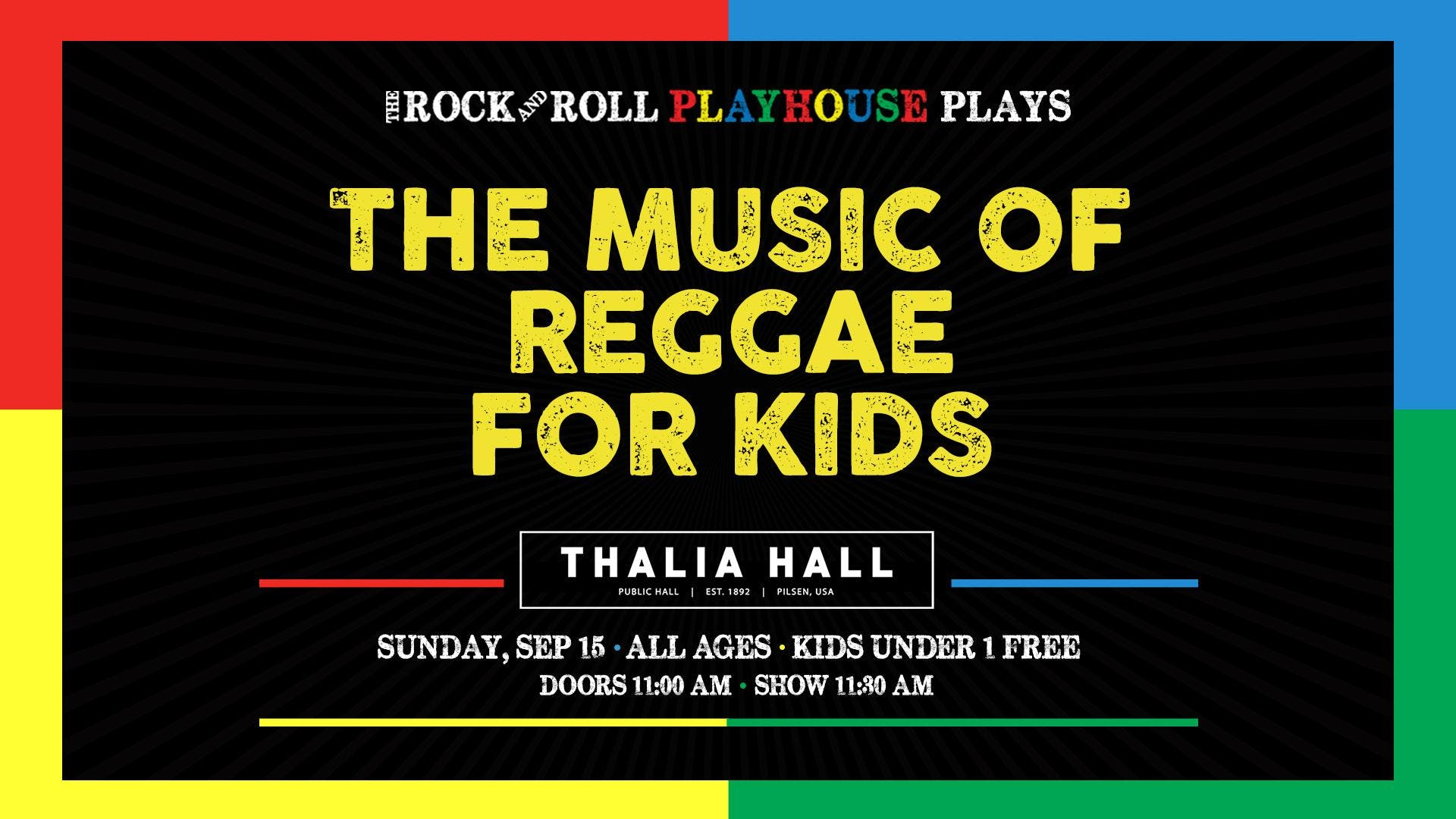 The Rock and Roll Playhouse presents: The Music of Reggae for Kids