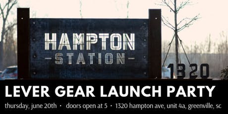 Lever Gear New Product Launch Party: Celebrate Our Kickstarter Launch! tickets