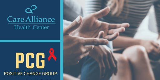 PCG Positive Change Group : Support group for individuals living with HIV/AIDS