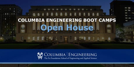Columbia Engineering Boot Camps (Open House) tickets