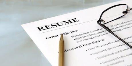 Un CV qui marque et qui vous représente ! billets