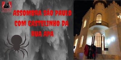 ASSOMBRA SÃO PAULO COM CASTELINHO DA RUA APA