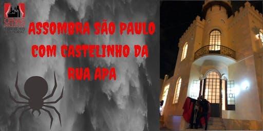 INSCRIÇÕES ENCERRADAS ASSOMBRA SÃO PAULO COM CASTELINHO DA RUA APA