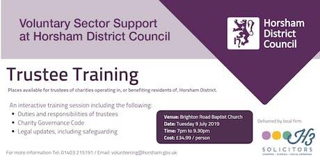 Trustee Training - Horsham District tickets