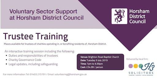 Trustee Training - Horsham District